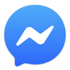 Delen via Facebook Messenger