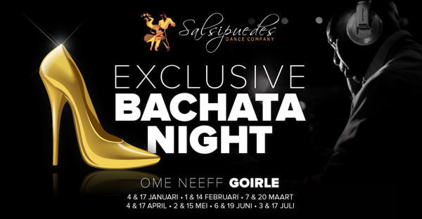Exclusive Bachata Night: Salsipuedes Dance Company te Goirle