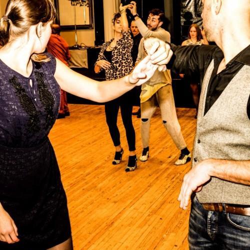 fotos 7th Antwerp Salsa Gala Workshops  in Zaal Bart op 04-02-2017