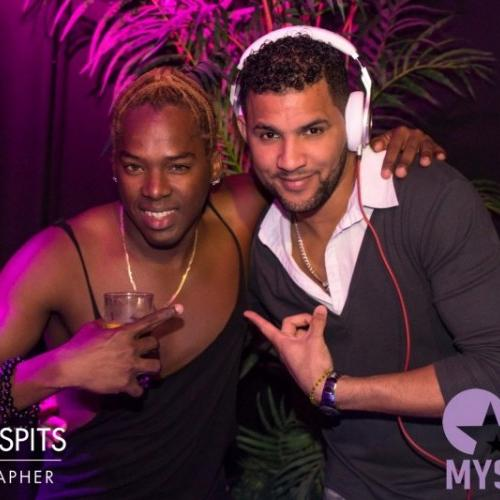 fotos Bemba Colorá 100% Cuban ☆ DJ Eddy el Mulato ☆ Asdru & Maye  in Club Mystique op 01-04-2017