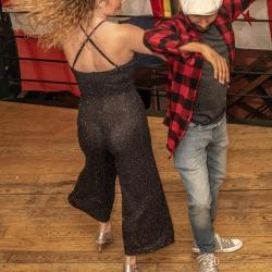 Salsa foto's van Salsa Twins LDS Xmas Party Leeds UK in leeds