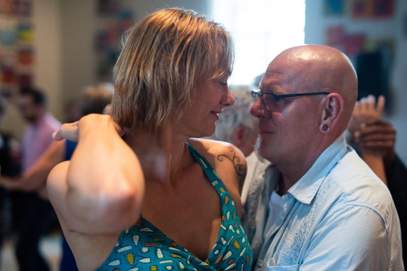 Cursisten Jolanda en Martin