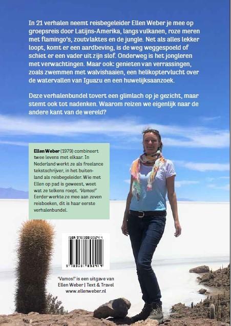Boek: een 21-daagse reis door Latijns-Amerika door Ellen Weber