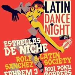 Line up Latin Dance Night 2017 compleet!
