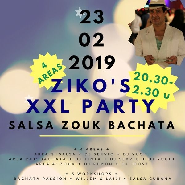 Za 23 feb 2019: Ziko`s XXL Party in Duiven