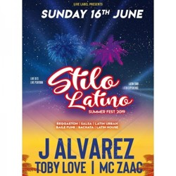 Zo 16 jun 2019: Stilo Latino Summer Festival 2019 in Velsen-zuid