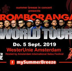 Summer Breeze end of season party 2019 with Tromboranga in concert in Amsterdam