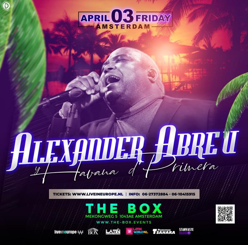 Alexander Abreu & Havana d`Primera in Amsterdam