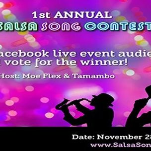 Grand final Salsa Song Contest on November 28th